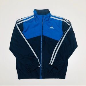 Adidas Boy Size 6 Zip Up Sweatshirt